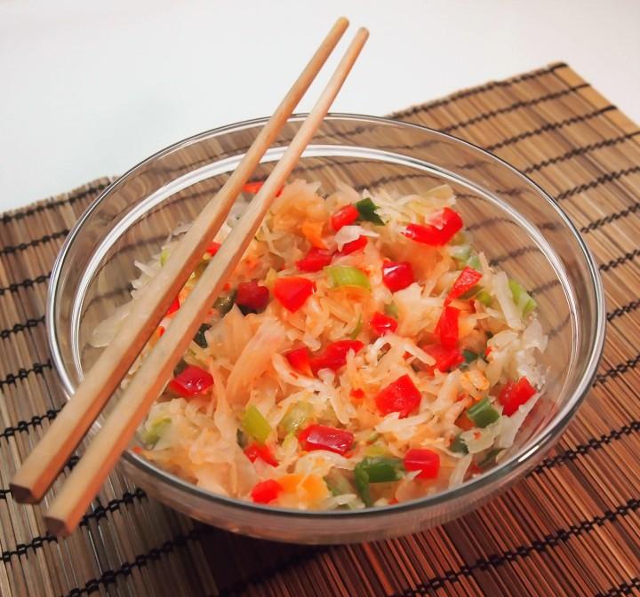Sauerkraut kimchi